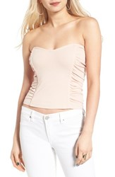 Leith Women's Ruched Strapless Top