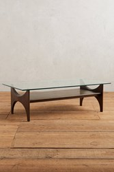 Anthropologie Panorama Display Coffee Table Carbon