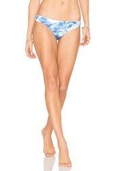 Seafolly Reversible Caribbean Ink Hipster Blue