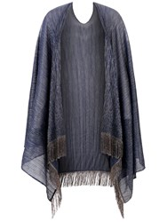 Damsel In A Dress Jacinta Shawl Blue