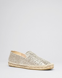 Delman Espadrille Smoking Flats Percy Putty