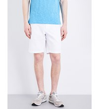 Tommy Hilfiger Brooklyn Classic Fit Cotton Shorts Classic White