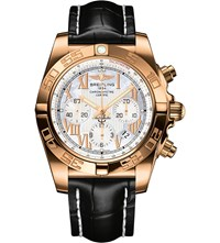 Breitling Hb0110ae A698 Chronomat 18Ct Rose Gold Watch