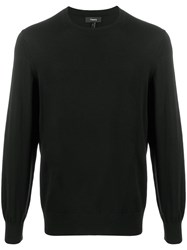 Theory Long Sleeve Knitted Jumper 60