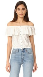 Free People Love Letter Tube Top Ivory