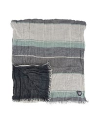 Armani Jeans Blue Two Sided Scarf