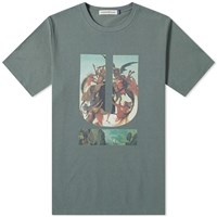 Undercover Painting Logo Tee Green