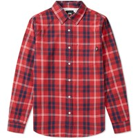 Stussy Penn Plaid Shirt Red