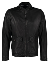 Marc O'polo Leather Jacket Black