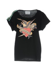 Forte Couture T Shirts Black