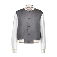 Thom Browne Buttoned Shirt Med Grey