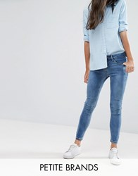 New Look Petite Super Skinny Jeans Blue