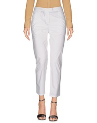 .. Merci Casual Pants White