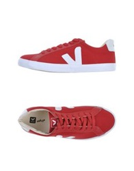 Veja Low Tops And Trainers Brick Red