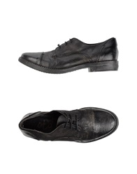 Oto Lace Up Shoes Black