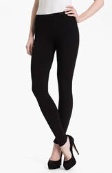 Splendid Stretch Cotton Leggings Black