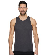 Brooks Ghost Tank Top Heather Black Workout