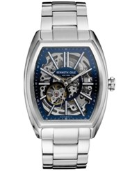 Kenneth Cole New York Men's Automatic Stainless Steel Bracelet Watch 40Mmx53mm 10030812 Silver