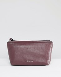 Calvin Klein Clutch Bag Wine Black