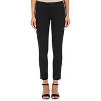 Atm Anthony Thomas Melillo Women's Twill Slim Crop Pants Black