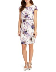 Phase Eight Effie Printed Dress No Color