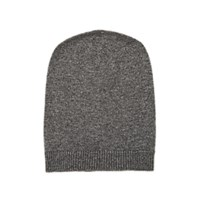 Barneys New York Cashmere Slouchy Hat Gray