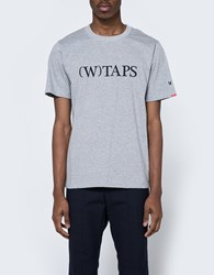 Wtaps Bracket Tee In Gray
