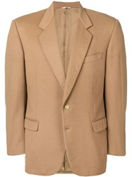 Pierre Cardin Vintage 1980'S Notched Lapels Blazer Nude And Neutrals