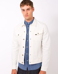 Lee L888 Rider Jacket Slim Fit White