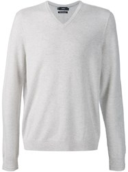 Vince Cashmere Sweater White
