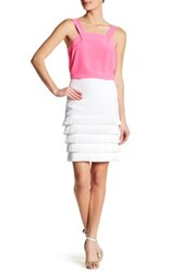 Trina Turk Saden Fringed Skirt White