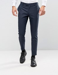 Jack And Jones Premium Slim Tuxedo Trouser Dark Navy
