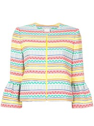 Alice Olivia Kidman Jacket Yellow