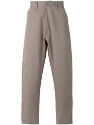 E. Tautz Chore Trousers Cotton Grey