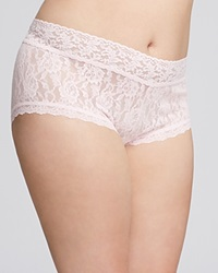 Hanky Panky Plus Signature Lace Boyshort 481281X Bliss Pink