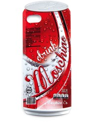 'Drink Moschino' Iphone 5 Cover Red