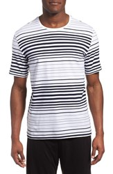 Men's Boss 'Trend' Stripe Crewneck T Shirt