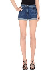 Elisabetta Franchi Jeans Denim Denim Shorts Women Blue