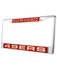 Rico Industries San Francisco 49Ers License Plate Frame Team Color