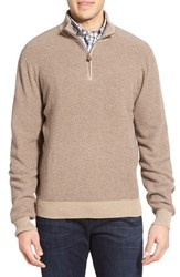 Men's Brooks Brothers Pique Half Zip Sweater