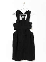 Aries Strap Pinafore Dress