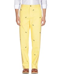 Brooks Brothers Casual Pants Yellow