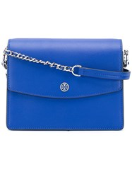 Tory Burch Minimal Shoulder Bag Women Leather One Size Blue