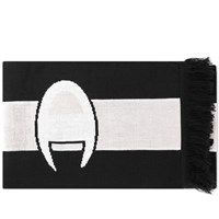 Champion Reverse Weave Logo Football Scarf Black