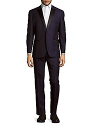 Ike Evening By Ike Behar Lounge Style Suit Navy