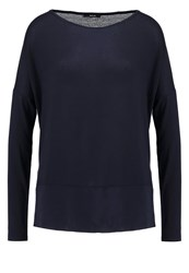 Opus Sitina Long Sleeved Top Reliable Blue