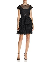 Aqua Tiered Lace Dress 100 Exclusive Black