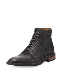 Cole Haan Canton Cap Toe Leather Boot Black