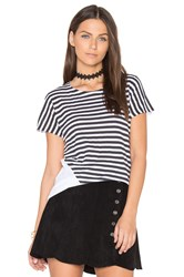 Rag And Bone Base Graphic Tee Black And White