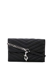 Rebecca Minkoff Edie Wallet On Chain Black